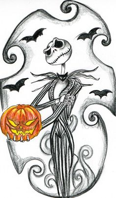 My tattoo-  Jack Skellington by ~Jessie-Jones on deviantART
