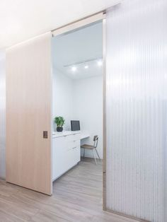 _**1.4**_ is a private medical clinic with an efficient plan that consists of three exam rooms, a laboratory, a teaching area, a staff room, and a waiting and reception area. As light filters into the various rooms, the illumination merges the transit...
