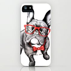 Happy Dog iPhone & iPod Case by 13 Styx