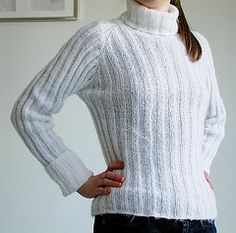 Ravelry: Incredible Custom-Fit Raglan (Archived) pattern by Pamela Costello (FREE)