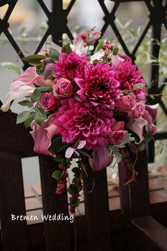 Bride Bouquets, Floral Bouquets, Floral Wreath, Floral Wedding, Wedding Colors, Wedding Flowers, Deco Floral, Floral Design, Pink Bouquet