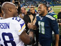 Seahawks vs Vikings Review ---  Seahawks Insiders Clare Farnsworth and Tony Ventrella take a look at the Seahawks 41-20 victory over the Vikings.