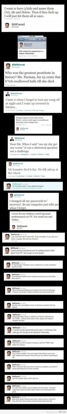 Will Ferrell!