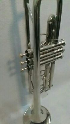 "Sunlite 10/"" Trumpet Horn Chrome Plated"