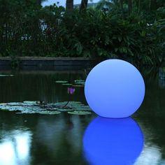 Boule Lumineuse Ball Bleu Smart and Green JardinChic
