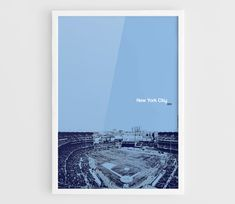 New York City FC Yankee Stadium MLS Football Poster  A3 Wall