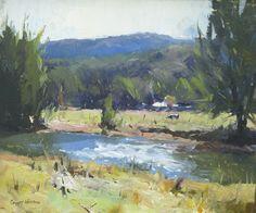 A Quiet Stream • 11x13, oil
