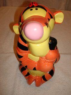 "Tigger Disney ""Treasure Craft"" Cookie Jar"