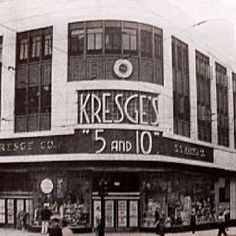 We had Kresges before Kmart   I used to work at the one in Ft. Worth-My very first job