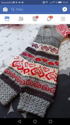 Fair Isle Knitting, Fingerless Gloves, Arm Warmers, Mittens, Knit Crochet, Stockings, Sewing, Inspiration, Fingerless Mitts