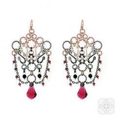 Flamenco EarringsLarge Earrings Ornate Gypsy Earrings by MellBlue Etsy Earrings, Dangle Earrings, Swarovski Crystal Earrings, Gypsy, Jewelery, Dangles, Handmade Jewelry, Glamour, Beautiful