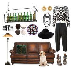 """Lifestyle!"" by sasif ❤ liked on Polyvore featuring moda, Quoizel, Maison Margiela, Rosantica, DKNY, Chanel, Numero 10, Eugenia Kim e Henri Bendel"