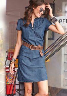 Jeanskleid, Aniston im Online Shop von Baur Versand