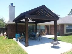 free standing covered #patio ideas