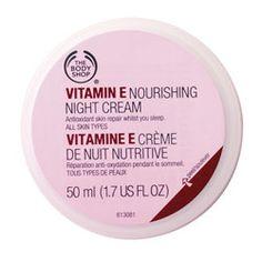 Vitamin E Night Cream | The Body Shop