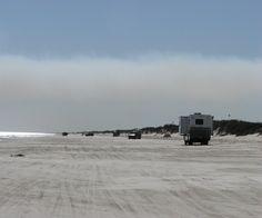 Beach Camping at Padre Island National Seashore