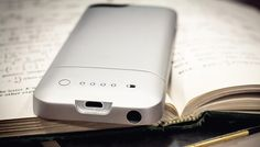 Mophie's Helium case doubles the battery capacity of the iPhone 5