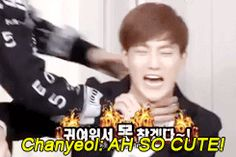 Chanyeol thought Suho was cute. He attacked him. Ladies and gentleman, here is a display of Park ChanYeol logic.