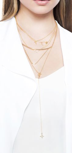 Understated luxury that's all in the details – pick your favorite dainty delight or pile it on for a layered look. Shop our entire Barely There collection at Jeweliq.com!