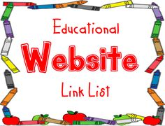 Huge list of websites for different subjects. Lots of other information also. - What the Teacher Wants! Blogspot