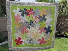 Twister Tool Quilt Patterns | Here is the finished quilt, in all its glory (its had a rough life ...