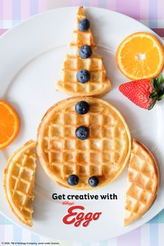 blast off! Launch your day to new horizons with Eggo Waffles! 3 ingredients to make your morning out of this world! Breakfast Dishes, Breakfast Recipes, Dessert Recipes, Healthy Meals For Kids, Kids Meals, Eggo Waffles, Nutritious Breakfast, Fancy Desserts, Holiday Appetizers