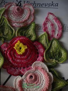 Irish lace, crochet, crochet patterns, clothing and decorations for the house, crocheted. Crochet Doily Patterns, Crochet Mandala, Freeform Crochet, Crochet Art, Thread Crochet, Crochet Motif, Crochet Designs, Doilies Crochet, Russian Crochet