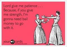 .Amen, Sister! :)