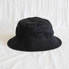 IRISH LINEN HAT #black