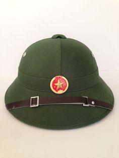 Vietnam VC VIETNAMESE Combat Pith Helmet Collectable