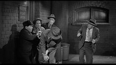 244. Moe Howard, Larry Fine, Shemp Howard, Sammy Stein (crouching), Heinie Conklin | Fling in the Ring (1955) | Three Stooges short directed by Jules White