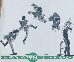 Custom Fanmade izaya vs shizuo Durarara Drrr Cosplay Shirt T-Shirt Tee