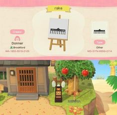 Animal Crossing Qr Codes Clothes, Animal Crossing Pocket Camp, Animal Crossing Game, Farm With Animals, Standee Design, Motif Acnl, Chicken Pattern, Laying Hens, Beautiful Farm