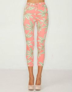 love these tropical pants