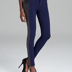 Leather panels on your leggings and pants is a subtle edge perfection. Find the perfect booties to pair with them on WGWT!