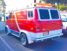 70's custom Chevy van