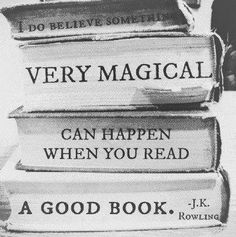 Read to live, live to read!
