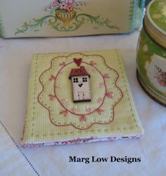 Marg Low Designs & Theodora Cleave Button