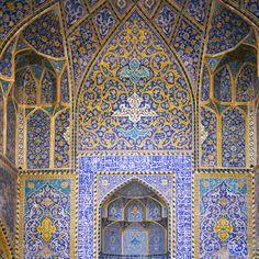 Masjid E Eman, Isfahan. Peter Sanders, photographer.