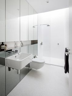 Bathroom | Living Room | House Elysium by Architect Prineas | est living