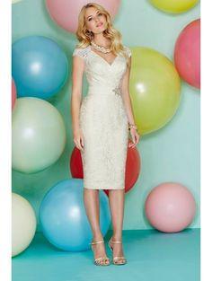 Carla Ruiz Dresses Carla Ruiz 92806 Peplum Dress With Sleeves ...