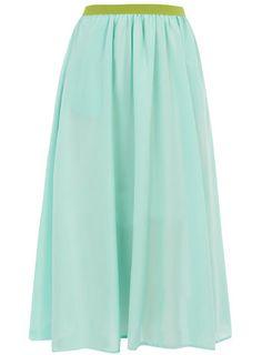 Dorothy Perkins Mint 50s skirt