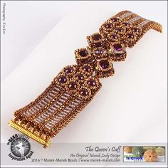 The Queen's Cuff www.manek-manek.com #maneklady