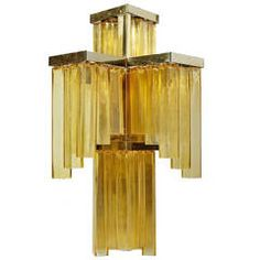 Wall Lamp Attributed to Venini, Italy 1950s