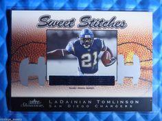 http://www.ebay.com/itm/2003-Fleer-Showcase-LADAINIAN-TOMLINSON-Sweet-Stitches-Jersey-Patch-SS-LT-899-/281463127702?ssPageName=STRK:MESE:IT 2003 #Fleer Showcase LADAINIAN TOMLINSON Sweet Stitches Jersey Patch #SS-LT #/899 #SanDiegoChargers @ebay #chargers #NFL #TCU