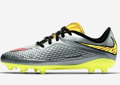 The Hypervenom Liquid Diamond Pack Inspires Kids to Express Themselves #shoes trendhunter.com