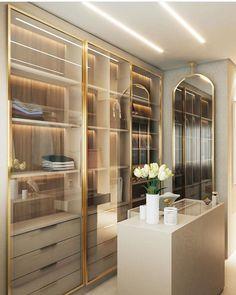 Source by room design Wardrobe Room, Wardrobe Design Bedroom, Closet Bedroom, Closet Ikea, Walk In Closet Design, Closet Designs, Dressing Room Design, Luxury Closet, Dream Closets