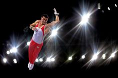 Kristian Thomas of England competes in the Men's Horizontal Bar Final at SSE Hydro during day nine of the Glasgow 2014 Commonwealth Games in Glasgow, Scotland.