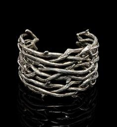 Large Thorn Cuff Bracelet -Thorn Branches