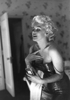 Marilyn es uno de los rostros más recordados del perfume Chanel nº 5